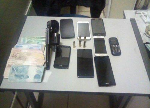 PM apreende armas de fogo e prende suspeitos de roubo em Araguaína e Palmas