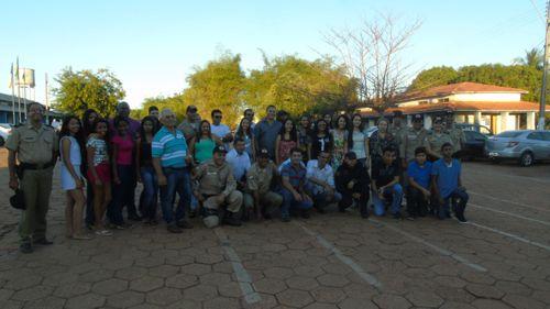 Em Araguaína, formandos do 1º Curso de Informática da PM recebem certificação