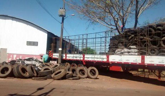 Araguainenses contam com descarte correto de pneus
