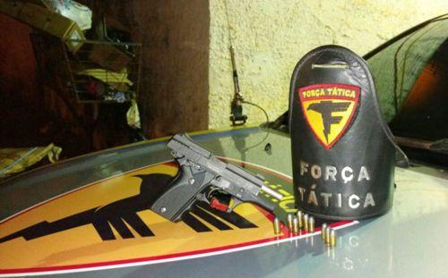 Homem é preso em posse de uma pistola em Araguaína