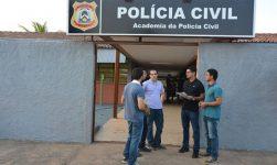 Cerca de 60 candidatos procuraram a Acadepol no primeiro dia de matrícula do Curso de Formação da Polícia Civil