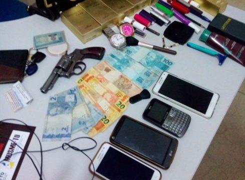 10 pessoas são detidas por roubo em Araguaína