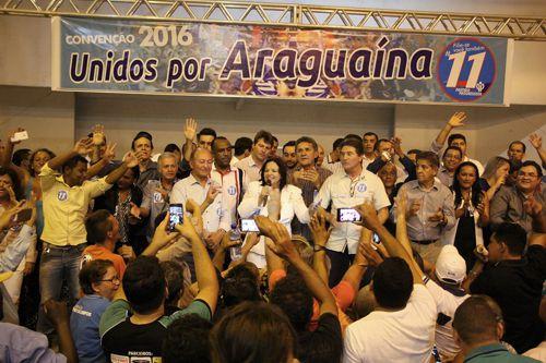 Valderez é confirmada candidata a prefeita de Araguaína: Nahim Halum é o vice