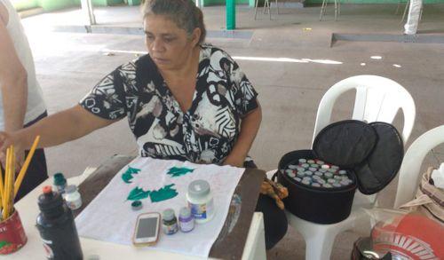 Bem-estar e empreendedorismo com curso de pintura para idosos em Araguaína