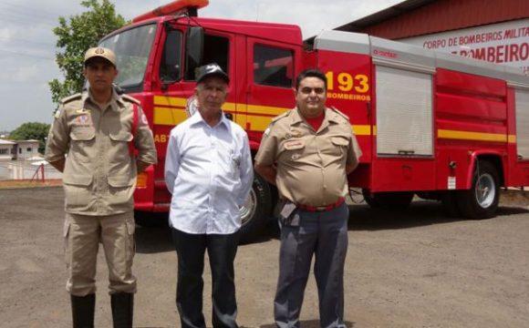 Bombeiros de Araguaína recebem reforma de caminhão ABT