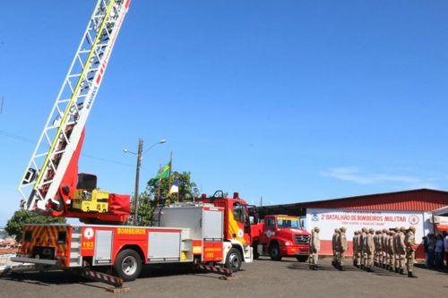 Comandante Geral visita Unidade dos bombeiros em Araguaína