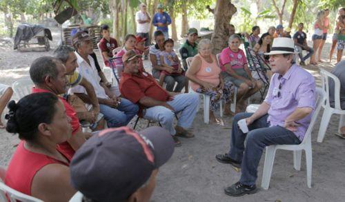 Dimas criará Escola Técnica Rural e Prefeitura no Campo
