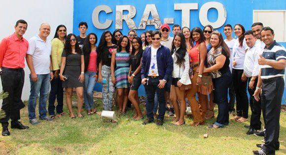 CRA-TO recebe estudantes de administração de Araguaína