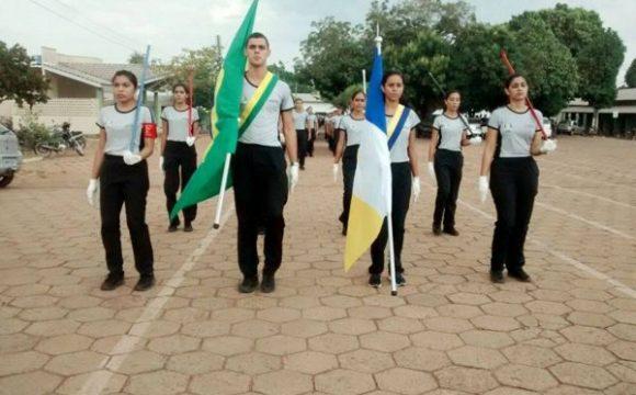 Colégio da Polícia Militar de Araguaína participa de seu primeiro desfile de 7 de setembro