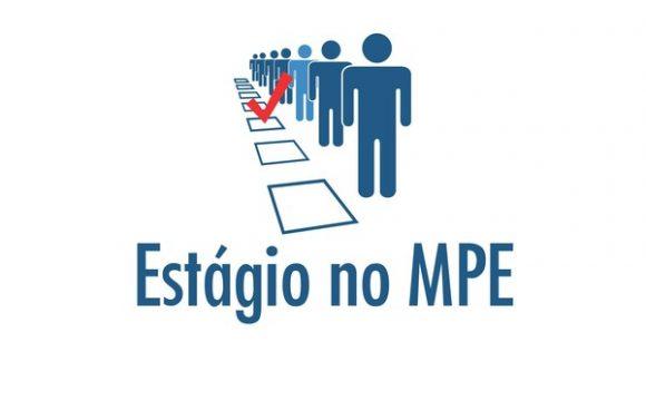 Inscrições para estágio no MPE são prorrogadas até domingo