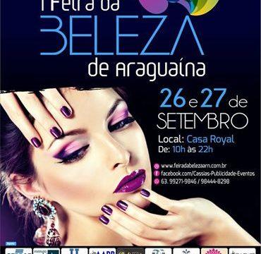 1ª Feira da Beleza de Araguaína será na última semana de setembro