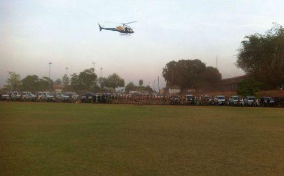 Equipe do CIOPAER realiza patrulhamento aéreo em Araguaína durante operações policiais