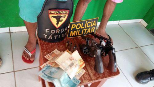 Suspeitos de roubo são presos pela PM nas cidades de Araguaína e Palmas