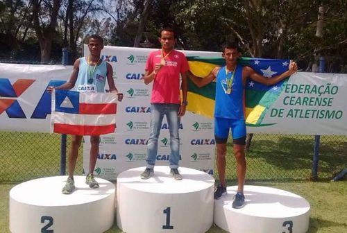 Filho de policial militar de Araguaína é campeão de atletismo no Ceará