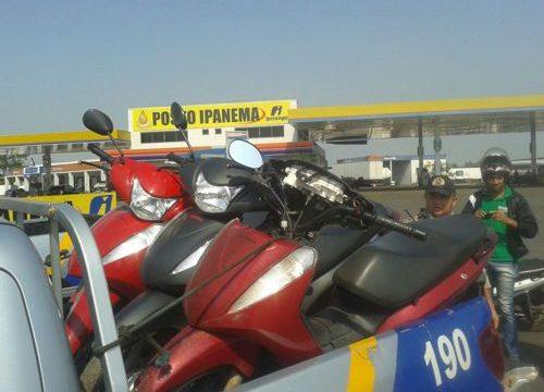 PM recupera quatro motocicletas com registro de furto/roubo em Araguaína e Darcinópolis