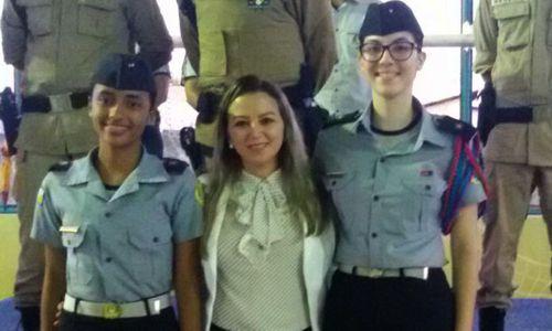 Alunas do colégio da Polícia Militar de Araguaína ganham concurso estadual de redação