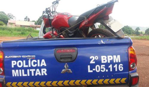 PM recupera em Araguaína e região três motos roubadas, celulares e detêm suspeitos