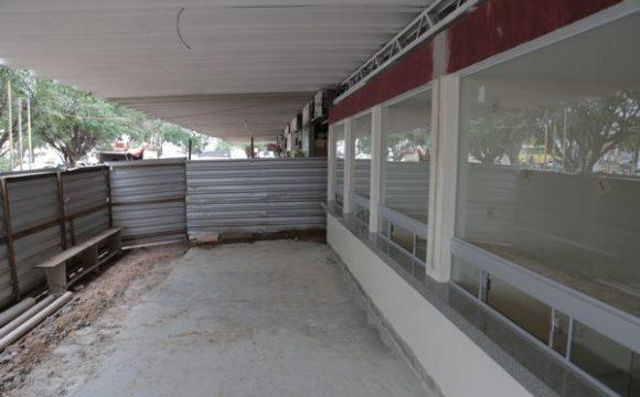 Primeira etapa totalmente reconstruída daRodoviáriaserá entregue até fevereiro