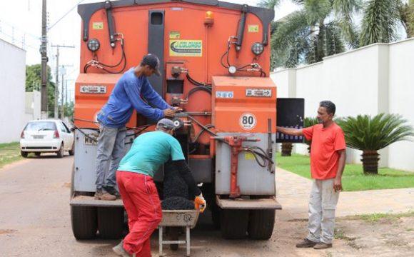 Prefeitura agiliza recuperação de ruas com tecnologia em Araguaína