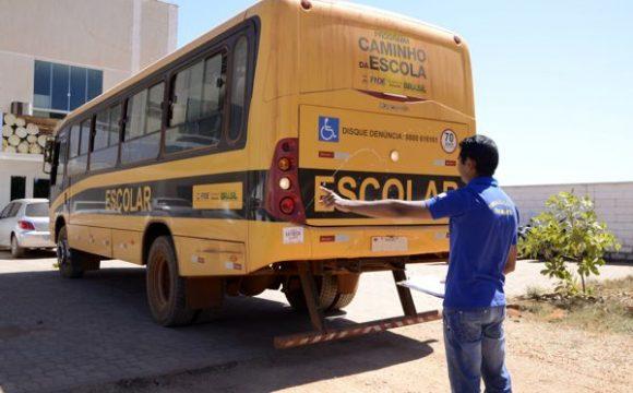 Cerca de mil veículos do Transporte Escolar vão ser vistoriados no Tocantins