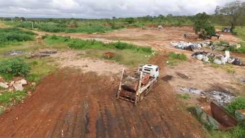 Araguaína conta com aterro para destinação de galhadas, entulhos e materiais de construção
