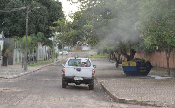 Carrosfumacê ajudam no combate ao Aedes em Araguaína