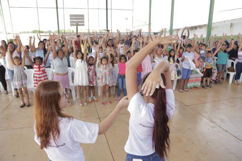 Crianças terão esportes, artes e lazer nas escolas municipais de Araguaína