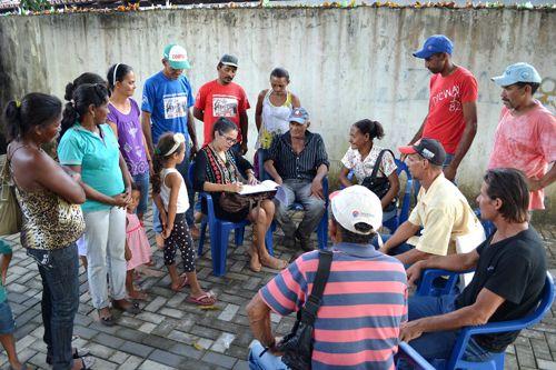 DPAgra realiza atendimentos coletivos a camponeses que sofrem Reintegração de Posse