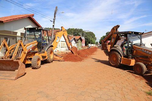 Mais de 20 bairros de Araguaína já contam com rede deesgoto