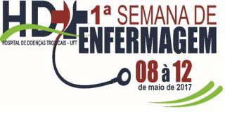 HDT-UFT realiza I Semana de Enfermagem de 08 a 12 de maio