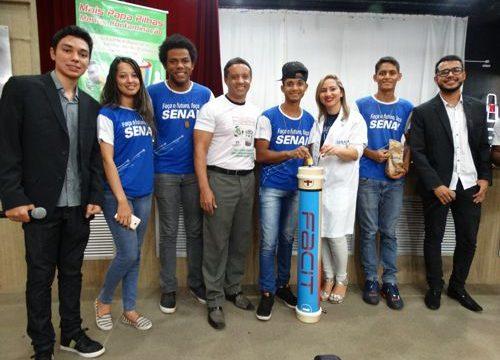 SENAI de Araguaína recebeu o projeto Papa Pilhas da FACIT