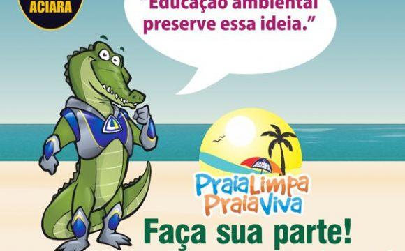 """""""Praia Limpa, Praia Viva"""" de 2017 terá foco na segurança dos banhistas"""