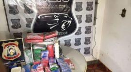 Polícia Civil apreende 15kg de maconha e prende dois homens por tráfico em Araguaína