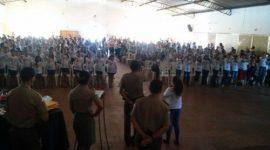 924 alunos formam pelo Programa de Resistência às Drogas e a Violência da PM em Araguaína