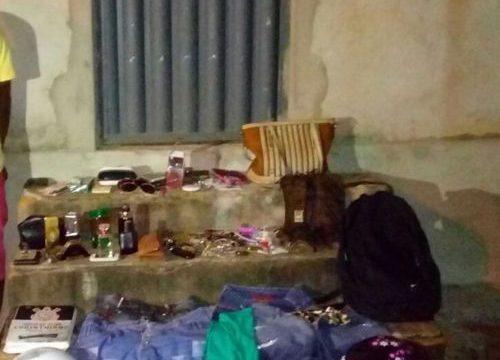 PM recupera diversos objetos roubados e detém três indivíduos por receptação em Araguaína