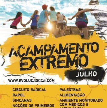 Acampamento Extremo é opção de lazer para jovens no mês de julho em Araguaína