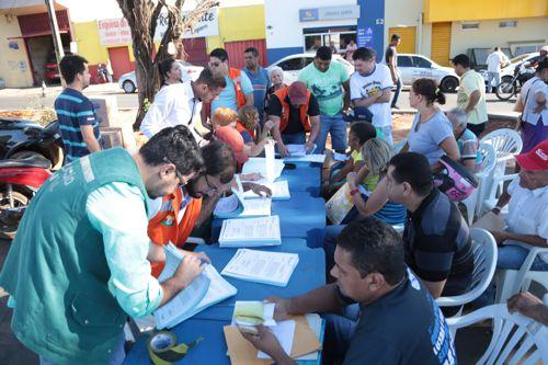 Ocupantes da área pública Feirinha são notificados a comprovarem atividades