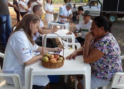 Dia D de combate ao fumo e colesterol teve ação do IBGH no Parque Cimba