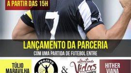 Ex-jogador Túlio Maravilha lança projeto social em Araguaína