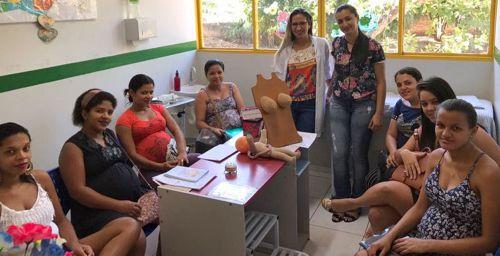 Mães participam de ações do Agosto Dourado em incentivo aoaleitamento