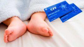 Cartórios devem incluir número do CPF de bebês em certidões de nascimento