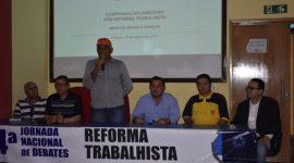 Presidente da Força Sindical-TO e Fesserto defende união das centrais contra desmanche das leis trabalhistas