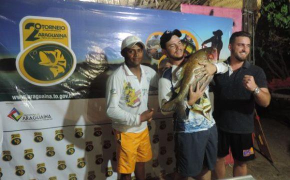 Tambaqui de quase 10 kg é destaque em torneio de pesca de Araguaína
