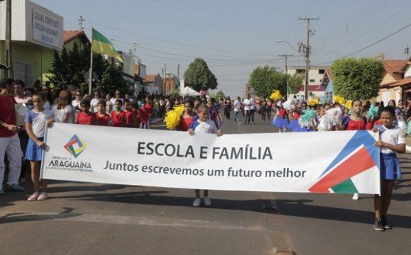 Desfile de Sete de Setembro em Araguaína propõe resgate de valores cívicos