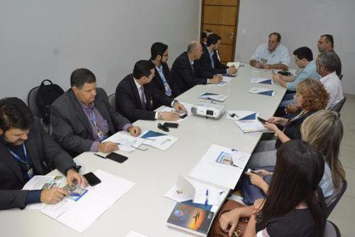 Técnicos da Infraero visitam Araguaína e conhecem projeto de melhoria do Aeroporto