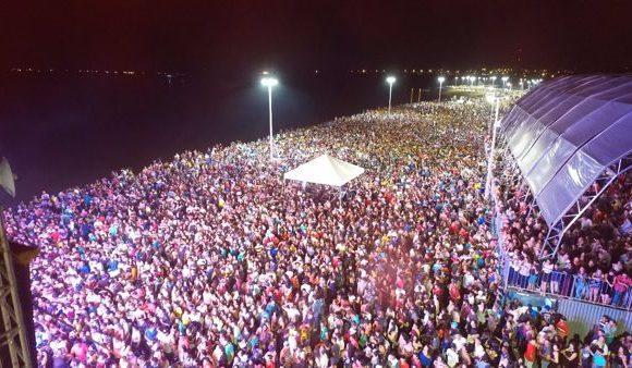 Mais de 50 mil pessoas na primeira noite de shows dos 59 anos de Araguaína