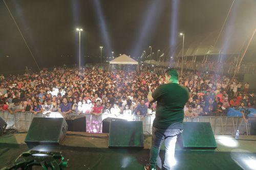 Noite de Fé encerra festa do 59º aniversário de Araguaína