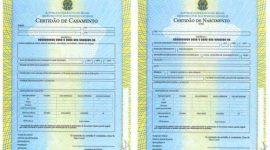 Os cartórios de todo o Brasil começaram essa semana a emitir novos modelos de certidões