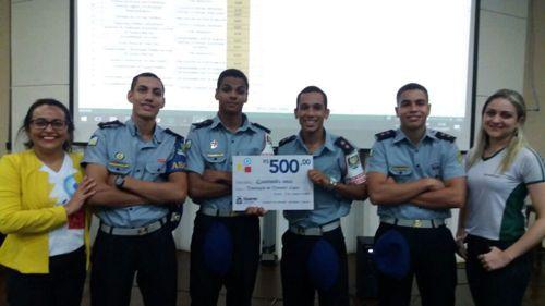 Alunos do Colégio da Polícia Militar em Araguaína são premiados em projeto da Universidade Federal do Tocantins