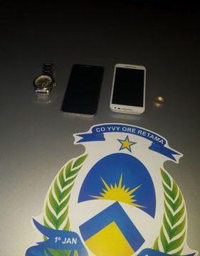 Quatro suspeitos de roubarem residência são detidos pela PM em Araguaína